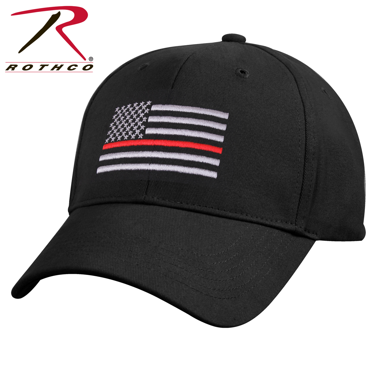 fef3c451ac8 rothco thin red line low profile cap