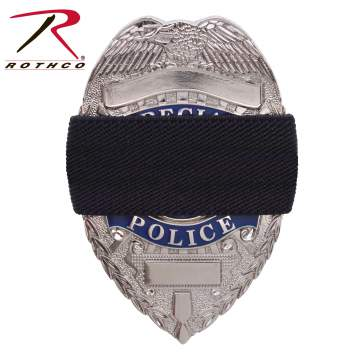 rothco mourning band, mourning band, badge mourning band, mourning bands, mourning badge, black mourning band, police band, police funeral protocol, funeral bands