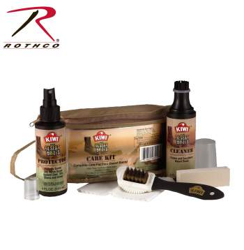 desert boots,suede boot care,boot care,military boot care,suede cleaner,desert tan boot care,boot kit,shoe kit,kit,care,