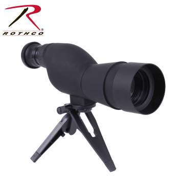 spotting scope, spotting scopes, rothco scopes, scopes, shooting scopes, shooting accessories, tactical spotting scope, 15x-40x scope,