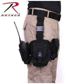 Rothco drop leg utility rig, Rothco utility rig, drop leg utility rig, utility rig, drop leg holster, drop leg holsters, tactical, tactical drop leg holster, holster, holsters, gear, military gear, tactical gear, drop leg rig, black, black drop leg rig, utility leg rig, leg rig, leg rigs, leg rig holsters, tactical assault gear, spec ops gear, duty gear, drop leg, molle gear, tactical clothing, tactical equipment, tactical leg holster