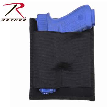 concealed carry holster, holster panel, concealed carry, gun holsters, tactical holster, concealable holsters, concealed carry accessories, conceal holster, concealed pistol holster, concealed weapon holster, ccw, cc, ambidextrous holster, discreet carry, Rothco Concealed Carry Holster Panel