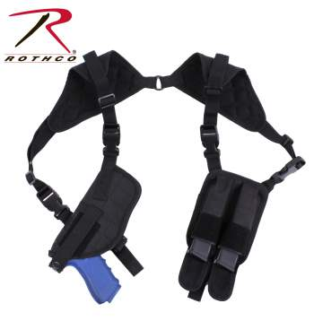 Rothco ambidextrous shoulder holster, ambidextrous shoulder holster, black shoulder holster, black holster, black, shoulder holster, shoulder holsters, holster, holsters, tactical shoulder holster, polyester, gun shoulder holsters, shoulder gun holster, gun shoulder holster, shoulder gun holsters, gun holster, gun holsters, concealed carry, concealment shoulder holster, concealed shoulder holsters, shoulder holster concealed carry, tactical, discreet carry