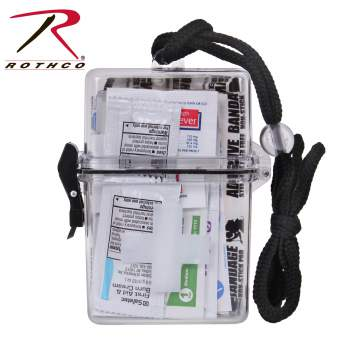 Rothco's Waterproof First Aid Kit, waterproof first aid kit, first aid kit, waterproof first aid kit case, waterproof first aid kit container, water proof first aid kit, first aid kit container, waterproof first aid case, waterproof first aid kits, waterproof first-aid kit, waterproof first aid kit box