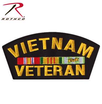 Rothco Vietnam Veteran Patch, patch, military patch, vietnam vet, vietnam veteran, rothco patch, patches