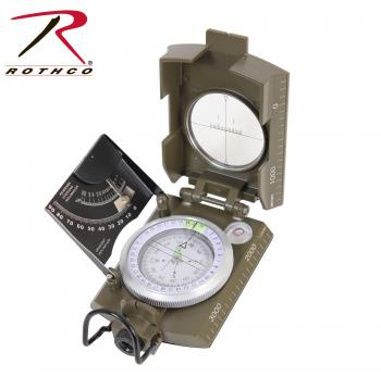 Rothco Deluxe Marching Compass, compasses, marching compass, navigation, military compass, deluxe, wholesale compass, survival tools, camping tools, outdoor tools, 14060