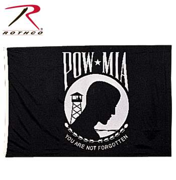 POW, Prisoner of War, Missing in action, POW flag, MIA flag, POW & MIA flag, flag, military flag, flags,