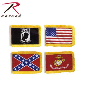 antenna flags, car accessories, antenna flag, pow antenna flag, USMC antenna flag,