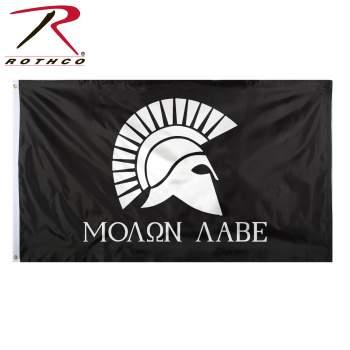 Molon labe flag, molon labe, Rothco flags, Rothco flag, Rothco molon labe, Rothco molon labe flag, Rothco molon labe flags, molon labe flags, come and take it, come and take it flag, come and take them, come and take them flag, come & take them flag, come & take them, molon labe American flag, American flags, America, American flag, patriotic, patriotic flag, patriotic flags, flag, flags
