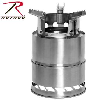 Rothco Stainless Steel Camping Stove, stainless steel stove, camping stove, backpacking stove, stainless steel backpacking stove, hiking stove, camping burner, outdoor camping stove, camping cooking stove, camping stove camping, camp stoves, camping burner stove, camping cook stove, portable stove, camping wood stove, mini stove, small camping stove, backcountry stove, backpacking burner, backpacking cookstove, lightweight camp stove, outdoor stove, outside stove