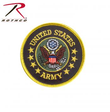 Rothco US Army Round Patch, military patch, rothco patch, patch, us army patch, army, round army patch, round
