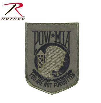 POW Patch, patch, military patch, patches, POW/MIA, pow mia, prisoner of war patch, missing in action patch,