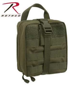 Rothco Tactical Breakaway Pouch, pouch, ammo pouch, tactical pouch, pouches, airsoft pouch, tactical holster, range bag, molle, molle gear, medical pouch, first aid pouch, tactical first aid pouch,