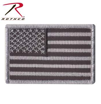Rothco Iron On  Sew On Embroidered US Flag Patch afd4a650d93