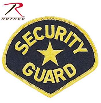 security patch, security guard patch, security guard accessory, security guard patch accessory