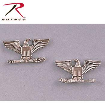 Colonel Insignia, military insignia, military ranks, army ranks, colonel pin, colonel