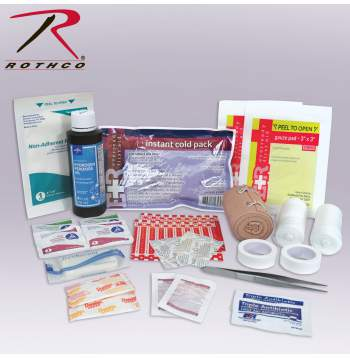 Rothco Tactical First Aid Kit Contents, Rothco First Aid Kit Contents, First Aid Kit, First Aid Kit Contents, Medical Aid Kit Contents, Medical Kit Contents, First Aid Bag Contents, Tactical First Aid Kit Contents