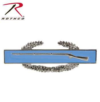Rothco Combat Infantry Badge, rothco, rothco badge, combat badge, infantry badge, combat patch, military patch, military insignia, insignia badge, military ranks, insignia badges, rothco patch, infantry patch