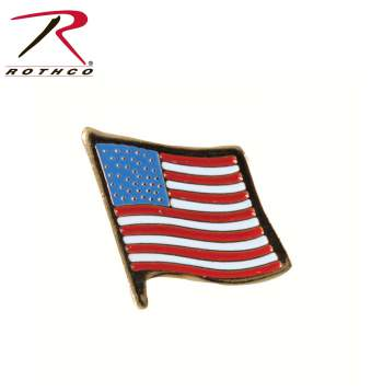 Rothco US Flag Pin, us flag pin, pin, usa, military pin, uniform pin, American flag pin, American flag