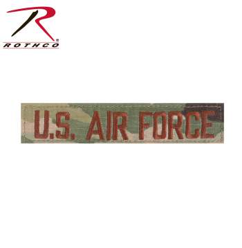 Scorpion U.S. Air Force Branch Tape, U.S. Air Force Branch Tape, Air Force Branch Tape, Branch Tape, Military Branch Tape