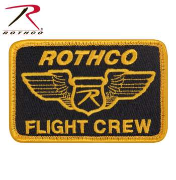 flight crew patch, rothco flight crew patch, morale patch, Velcro patches, tactical Velcro patches, military Velcro patch, morale patches Velcro, military morale patches, molle patches, tactical morale patches, tactical patches, Velcro morale patch, airsoft patch, hook & loop patch,