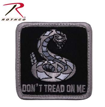 Rothco Don't Tread On Me Patch, Hook Backing, don't tread on me, airsoft patch, morale patch, airsoft patch, patches, Gadsden morale patch, Rothco morale patch, don't tread on me airsoft patch, tactical patches, military morale patches, funny morale patches, moral patch, military velcro patches, tactical airsoft morale patches, airsoft morale patches, airsoft patches, morale patch