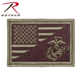 Rothco USMC Patch, United States Marine Corp, Marines, Marine, US Marine Corp, US Marines, Globe, Anchor, Logo, USMC patch, morale patch, United States Marine Corp Morale patch, airsoft, airsoft patch, velcro patch, patches, funny morale patches, tactical patches, tactical morale patches, tactical airsoft patches, USMC Morale Patch, Marines morale patch, Marines airsoft, USMC airsoft, USMC Paintball, Marines paintball, paintball, morale patch for paintball, morale patch for airsoft, American Flag, Flag patch, American Flag Patch