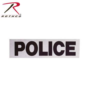 Rothco Reflective Tape Police, rothco, rothco tape, rothco police tape, reflective patch, police patch, patches, sew-on patches