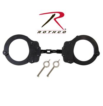 Peerless Linked Handcuff, handcuffs, peerless, police gear, law enforcement, double locking system, chain link, wholesale handcuffs, NIJ,