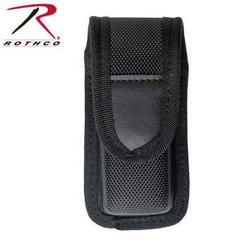 Rothco enhanced molded pepper spray holder, enhanced molded pepper spray holder, enhanced molded pepper spray holders, pepper spray holder, pepper spray holders, pepper spray, pepper spray holster, mace holder, mace holster, mace holders, mace holsters, pepper spray holsters, mace, self-defense spray, defense spray