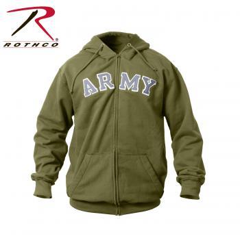 Hoodie,ZipUp sweatshirt,army sweatshirt,sweatshirt,army Hoodie,vintage,rothco vintage collection,vintage hoodie,vintage sweatshirts