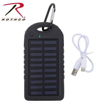Rothco Waterproof Solar Power Bank, Power Bank Solar, Solar Power Bank, Solar Power Bank Charger, solar power banks, Solar charger power bank, Solar Bank, Portable Solar Power Bank, phone charger, portable charger, charging bank, phone charger, portable smartphone charger, portable power bank, energy bank