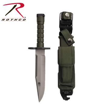 GI Type M-9 Bayonet, government issue bayonet, bayonet, knife, knives, black bayonet, black knife, black knives, stainless steel blade, black,zombie,zombies