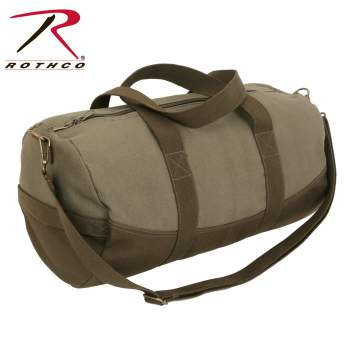 canvas bag, shoulder bag, duffle bag, canvas duffel bag, bag, military bag, military gear, canvas, shoulder bag, canvas shoulder bag, bags, canvas military bags, rothco canvas bags, rothco duffle bags, canvas duffle bags, rothco bags, two tone canvas, travel bag, gym bag, canvas gear bag