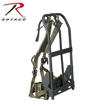 Rothco Alice Pack Frame With Attachments, alice pack,alice pack attachments,alice pack with frame,alice packs,military packs,military gear,military alice pack,alice pack and frame,alice pack & frame,gi alice packs,gi packs,military pack frame,tactical packs,metal frame with pack, Alice Pack Frame, tactical pack frames, hunting pack frame, aluminum frame backpack, backpack frame, lightweight external frame pack