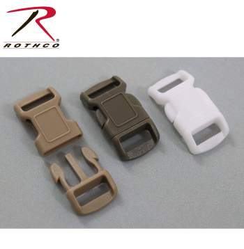 side release plastic buckles,buckles,buckle,plastic buckles,paracord buckle,black buckle,3/8 Inches,3/8 buckle, paracord accessories, survival bracelets, survival paracord
