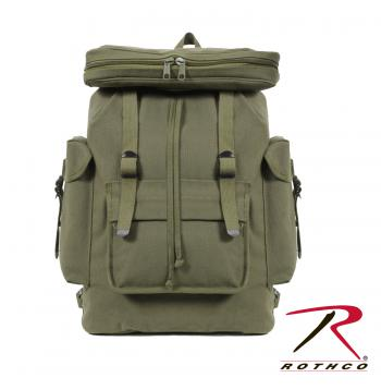 Rothco Canvas European Style Rucksack, Rothco canvas rucksack, Rothco canvas bags, Rothco rucksack, canvas rucksack, European style rucksack, rucksack, European rucksack, euro rucksack, canvas bag, canvas backpack, backpack, canvas bags, ruck sack, canvas tote,  military rucksack, military backpack, European style backpack, army rucksack, army bag, rucksack backpack, vintage backpacks,