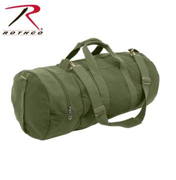 canvas bag, military bag, canvas military bag, canvas tote bag, tote bag, canvas sports bag, sports tote, tote, duffel bag, canvas duffel bag, double ender duffle bag, duffle bag, duffle bags, rothco canvas bags, rothco duffle bags, canvas duffle bags, rothco bags