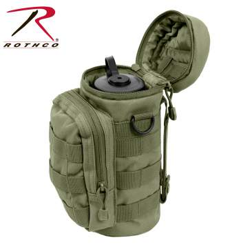 Rothco MOLLE Compatible Water Bottle Pouch, Rothco MOLLE Water Bottle Pouch, Rothco Water Bottle Pouch, MOLLE Compatible Water Bottle Pouch, MOLLE Water Bottle Pouch, Water Bottle Pouch, molle, m.o.l.l.e, molle pouch, water bottle holders, water bottle case, molle gear, tactical water bottle holder, military water bottle holder, hydration, hydration equipment, outdoor gear, tactical gear, molle pouch, water bottle, water bottle carrier, molle water bottle carrier, molle compatible, molle water bottle holder, modular lightweight load-carrying equipment