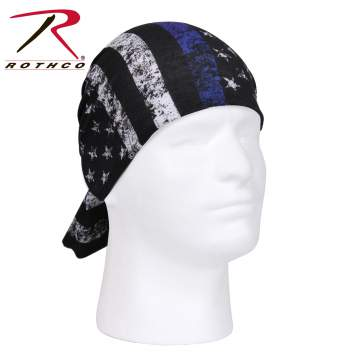 Rothco multi-use tactical wrap, Rothco multi-use tactical wrap, multi-use tactical wrap, multi-use tactical wrap, tactical wrap, multiple uses, tactical headwrap, tactical headwrap, head wrap, bandana, bandana, moisture wicking, wind resistant, neck gaiter, dust screen, balaclava, hat, scarf, tactical wrap, multi-use bandana, thin blue line, thin blue stripe, thin blue line bandana, blue stripe bandana, thin blue line headwrap, blue stripe headwrap, police bandana, law enforcement bandana, thin blue line scarf
