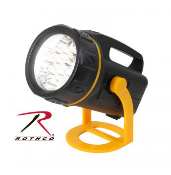 Rothco Lantern, 13 LED  lantern, solar lantern, wind up, survival lamp, emergency lamp, light, rubberized plastic, 246, camping gear, outdoor gear, wholesale outdoor supplies,