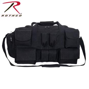 Rothco Canvas Pocketed Military Gear Bag, canvas pocketed gear bag, canvas gear bag, military gear bag, pocketed military gear bag, canvas military bag, canvas military gear bag, rothco military gear bag, rothco canvas bag, canvas bags, military bags, canvas travel bags, large travel bags, large gear bags, military field bag, military duffle bag, military style gear bag, military surplus gear bag, military canvas gear bag, military gear travel bags,