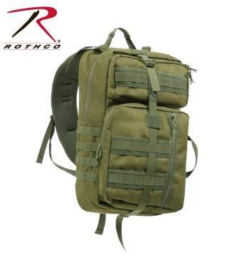 Rothco Single Sling Backpack, backpack, back pack, sling back pack, sling backpacks, laptop backpack, polyester, hydration bladder compatible, tactical back pack, tactical pack, one strap backpack, concealed carry, ccw, handgun holder, concealed weapon, concealment, cc, sling bag, tactical sling bag, tactical sling backpacks, sling pack tactical, transport pack, concealed carry transport pack, concealed carry backpack, concealed carry, backpack, cc backpack, tactical backpack, discreet carry