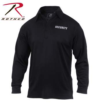 moisture wicking, sweat wicking, sweat wicking fabric, sweat wicking clothing, moisture wicking fabric, moisture wicking clothing, moisture wicking shirts, long sleeve, long sleeve shirts, black long sleeve shirt, full sleeve shirts, long sleeve tee, long sleeve shirts for men, mens long sleeve, performance wear, security shirts, security polo shirts, polo shirt, long sleeve polo shirt, moisture wicking polo shirt
