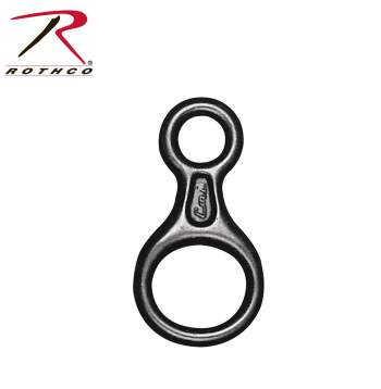 Rothco,Figure 8 Climbing Ring,climb gear,rock climbing gear,hiking equipment,hiking gear,rope climbing,climbing equipment,equipment for climbing,climbing gear,carabiners