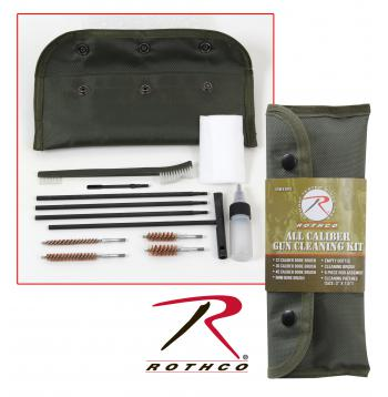 gun cleaning kit, cleaning kit, gun accessories, military gun cleaning kit, military accessories