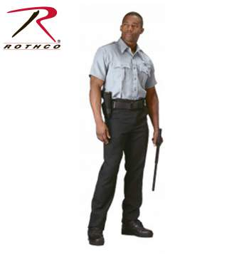 Rothco,Short Sleeve,Uniform,Shirt,work shirts,dress uniform,security clothing,law enforcement uniforms,uniform shirts,casual shirts,button down shirts,button downs,cotton,white,navu blue,light blue,khaki,grey,Tactical Shirt,Tactical,mens shirts,tactical shirts,polyester,woodland camo,poly cotton