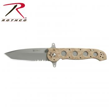 Knife Crkt M16-14ZSFI,folding knife,folding knives,knife,knives,crkt knife,camo,camo knife,camo knives,serrated blade,tactical knife,tactical knives,desert camo, zombie,zombies