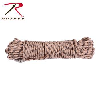Rothco 314 Utility Rope Black 3//8 Inches Made ion the U.S.A. 50/'