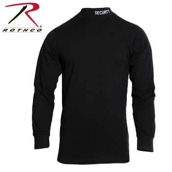 Rothco,Mock,Turtleneck,security,cotton spandex,turtle necks,turtle neck sweater,turtleneck mock,turtlenecks,turtle neck,law enforcement gear,work wear,work clothes